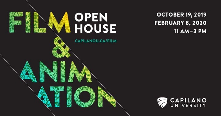 Film & Animation Open House