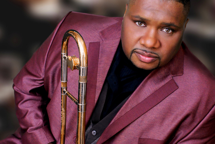 Wycliffe Gordon with the CapU Jazz Ensembles