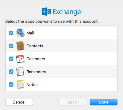 Mac Mail apps